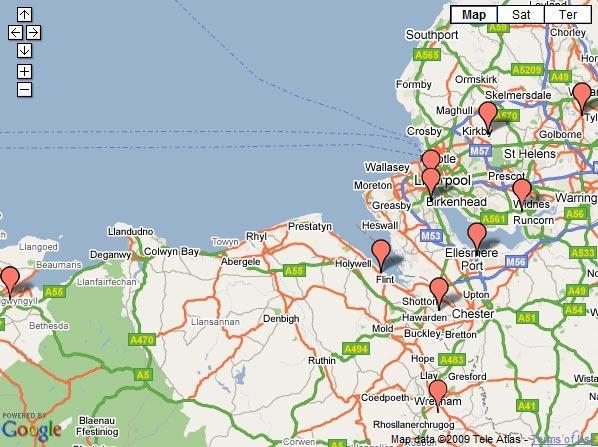 J R Webster Engineering Supplies Merseyside North West